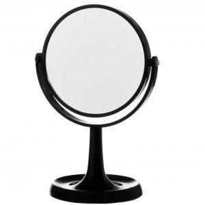 pyöreä peili jalalla